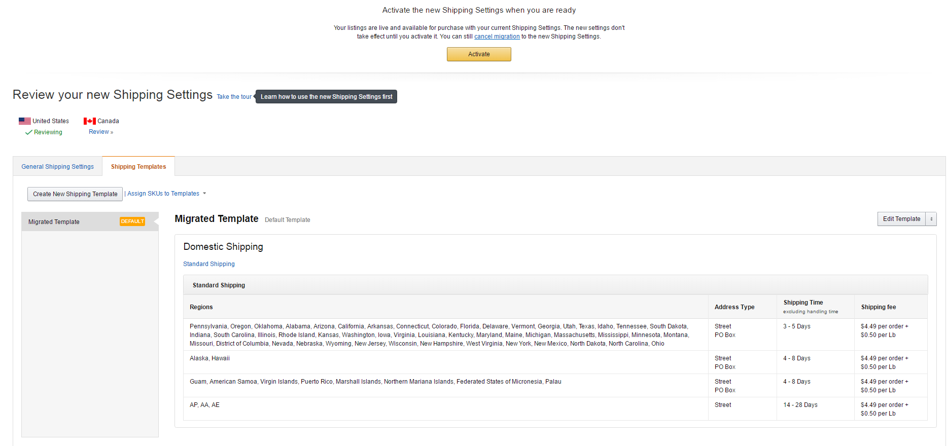 CREATE A FREE SHIPPING TEMPLATE IN YOUR AMAZON SELLER CENTRAL