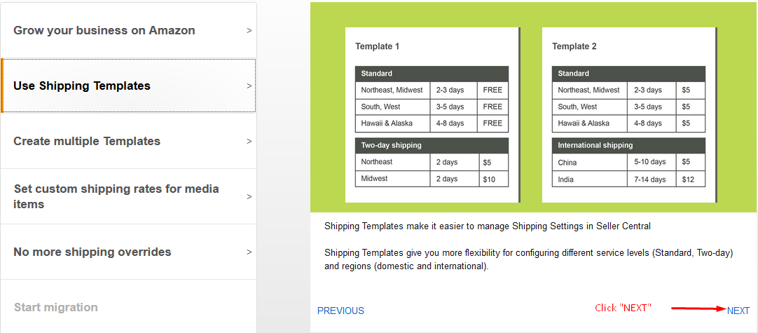 MIGRATING OLD SHIPPING SETTINGS TO NEW SHIPPING TEMPLATE