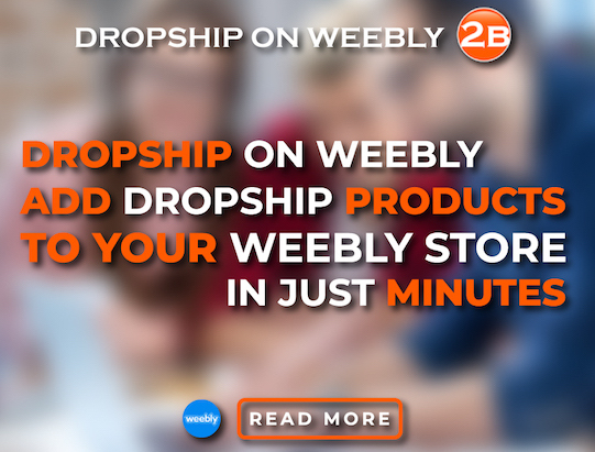 Dropshipping App for Weebly