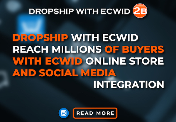 Dropshipping App for ECWID