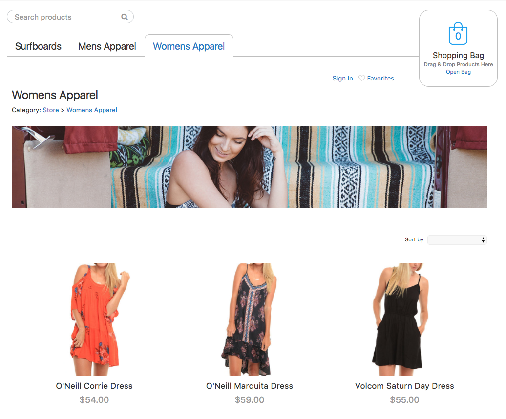 Import products to your ECWID store