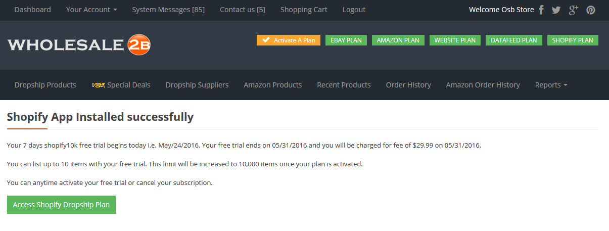 HOW TO INSTALL WHOLESALE2B SHOPIFY APP