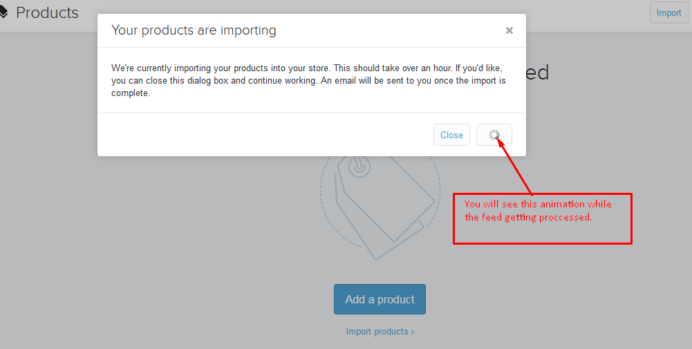 STEP BY STEP INSTRUCTIONS TO IMPORT TO SHOPIFY COM